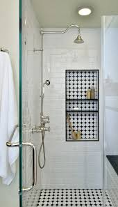 Open Shower Bathroom Design by A House With A Cool Design White Subway Tiles Subway Tiles And
