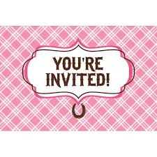adoption party invitations amazon com heart my horse invitation gatefold 8 invites
