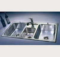 stainless steel kitchen sinks 100 usa made just mfg