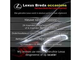 lexus nx for sale ct used lexus ct 200h business line premium navigatie parkeersensor