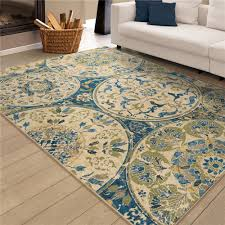 Bright Colored Area Rugs Orian Rugs Area Rugs Color Family Blues Goingrugs