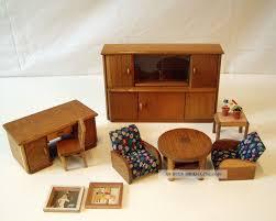 Wohnzimmerm El Um 1900 Antikspielzeug Puppen U0026 Zubehör Puppenstubenzubehör Original