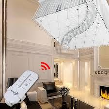 Wohnzimmer Deckenlampe Design Led Deckenlampe Kristall Kronleuchter Decken Hänge Wohnzimmer