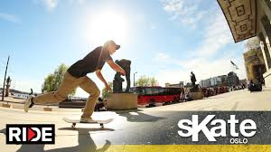 lexus barcelona skatepark skate oslo norway with michael sommer ride channel