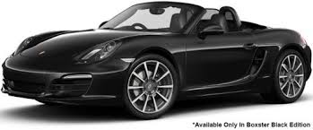 porsche boxster black edition porsche boxster black edition price mileage 15 62 kmpl