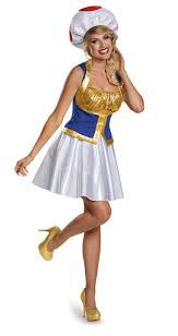 Halloween Costume Tween Girls Kids Toad Mario Tween Costume 45 99 Costume Land