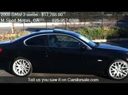 bmw 328i 2008 manual 2008 bmw 3 series 328i coupe for sale in walnut creek ca
