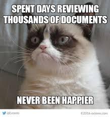Grumpy Meme - friday funnies exterro s e discovery meme series grumpy new year s