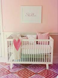 stella u0027s modern girly nursery