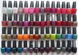 allyoudesire my nail polish collection opi