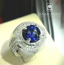 model cincin blue safir jual cincin berlian pria dg blue sapphire sdmc 1510 01