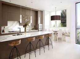 Kitchen Laminate Floor Neutral Color Kitchen Sleek Laminate Floor Background Paired Wide