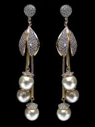 buy earrings online american diamond earring c48 er01 cilory