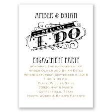 Engagement Party Invitation Cards We U0027ll Say I Do Mini Engagement Party Invitation Invitations By Dawn