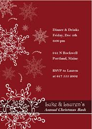 elegant christmas party invitation template pacq co