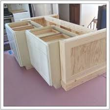kitchen island base cabinets diy kitchen island from stock cabinets diy home