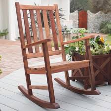 Rocking Chair Seat Pads Chair Stress Of Day And Put Your Mind Body At Natural Wooden
