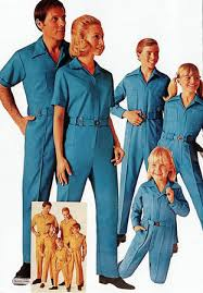 sears jumpsuit early 70s sears polyester knit jumpsuits for the whole