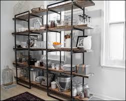 open kitchen shelf ideas kitchen superb farmhouse shelving unit kitchen wall shelving