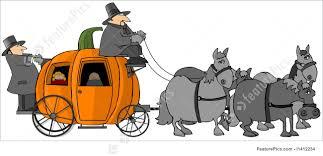 pumpkin carriage pumpkin carriage stock illustration i1412234 at featurepics