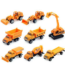 8pcs lot 1 64engineering vehicles alloy cars toy car excavator