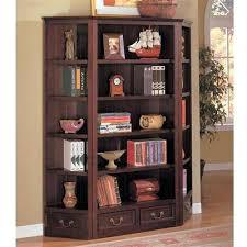 Corner Shelf Desk Bookcase Corner Bookcase Cherry Wood Corner Bookshelf Cherry