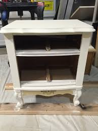 nightstand simple antique french country bedside table p