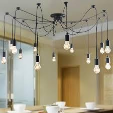 retro kitchen lights spider lamp indoor hanging light multi optionally retro loft lamp