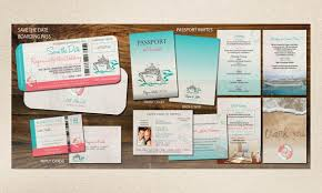 Cruise Wedding Invitations Destination Wedding Cruise Invitations By I Do With You Idowithyou