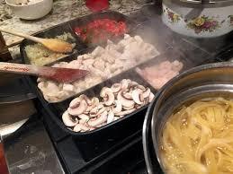 poele à cuisiner la poêle 5 compartiments masterpan fait cuisiner plus efficacement