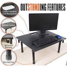 steady original folding standing desk converter