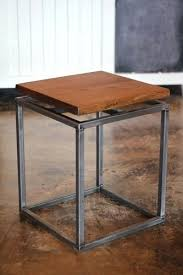 diy stainless steel table top steel end table medium size of stainless side table steel end tables