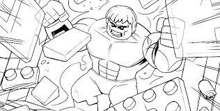 Coloriage Super Heros De Lego Avengers 2 Coloriage Lego Marvel Super