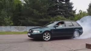 audi a4 1 8t rwd vs audi a4 2 8 quattro youtube