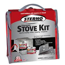 252 Best Outdoor Cooking Images On Pinterest Outdoor Cooking by Amazon Com Sterno Outdoor Overnight Stove Kit Cookware