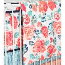 Navy And Coral Baby Bedding Blue U0026 Navy Crib Bedding Rosenberry Rooms