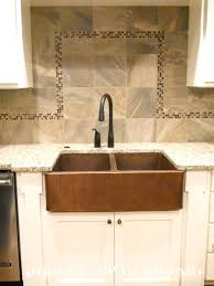 Country Kitchen Sink Ideas Copper Kitchen Sink Idea Suits Well In A Farmhouse Kitchen