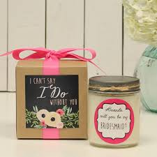 gifts to ask bridesmaids to be in wedding wedding gift creative gifts to ask bridesmaids to be in your