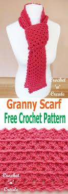 simple pattern crochet scarf a simple free crochet granny scarf pattern for you to make