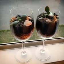 glass terrariums neutral colours