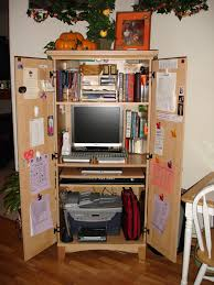 Small Computer Armoire by Time Out For Digging Out