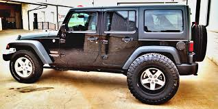 best jeep wrangler rims tire that will fit a stock jeep wrangler jk with no lift