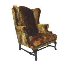 wingback chair purple formdecor