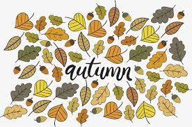 imagenes animadas de otoño hojas de otoño de dibujos animados carteles vector png otoño