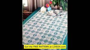 Crochet Table Cloth Easy Crochet Tablecloth Patterns Youtube