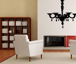Chandelier Wall Decal Vinyl Wall Decal Sticker Pretty Chandelier Os Mb708