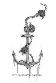 100 chain tattoo designs awesome skull anchor tattoo with