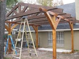 How To Build A Simple Pergola by Contemporary Design How To Build A Pergola Tasty Diy Pergola Plans