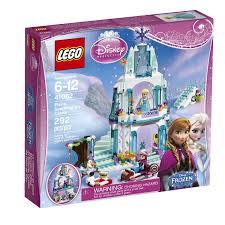 amazon com lego disney princess elsa u0027s sparkling ice castle 41062