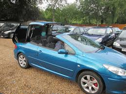 peugeot 1 peugeot 307 cc convertible 1 6 petrol 2 former keepers 1 year mot